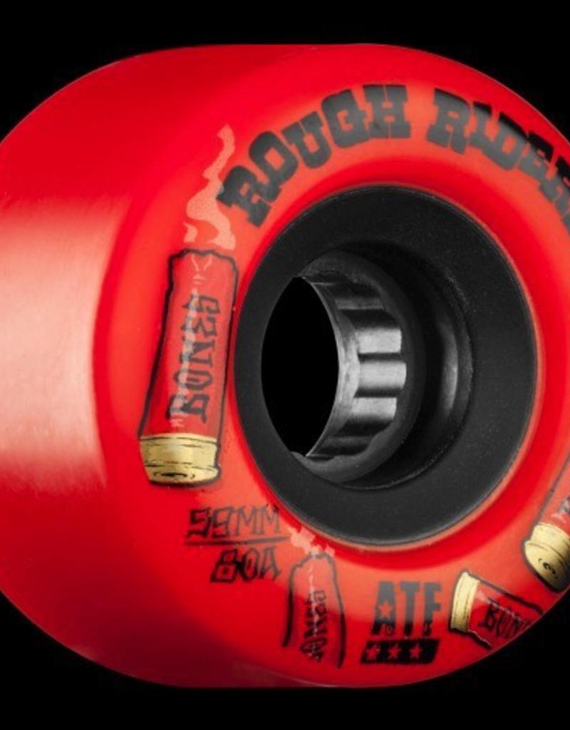 BONES ATF ROUGH RIDERS SHOTGUN 59MM SKATEBOARD WHEEL 4PK