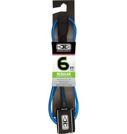 O&E MOULDED REGULAR LEASH 6' BLUE