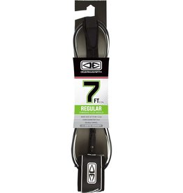 O&E MOULDED REGULAR LEASH 7' BLACK