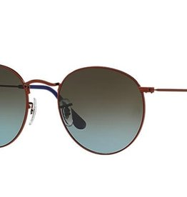 RAYBAN ROUND METAL, LENSES: BLUE/BROWN GRADIENT
