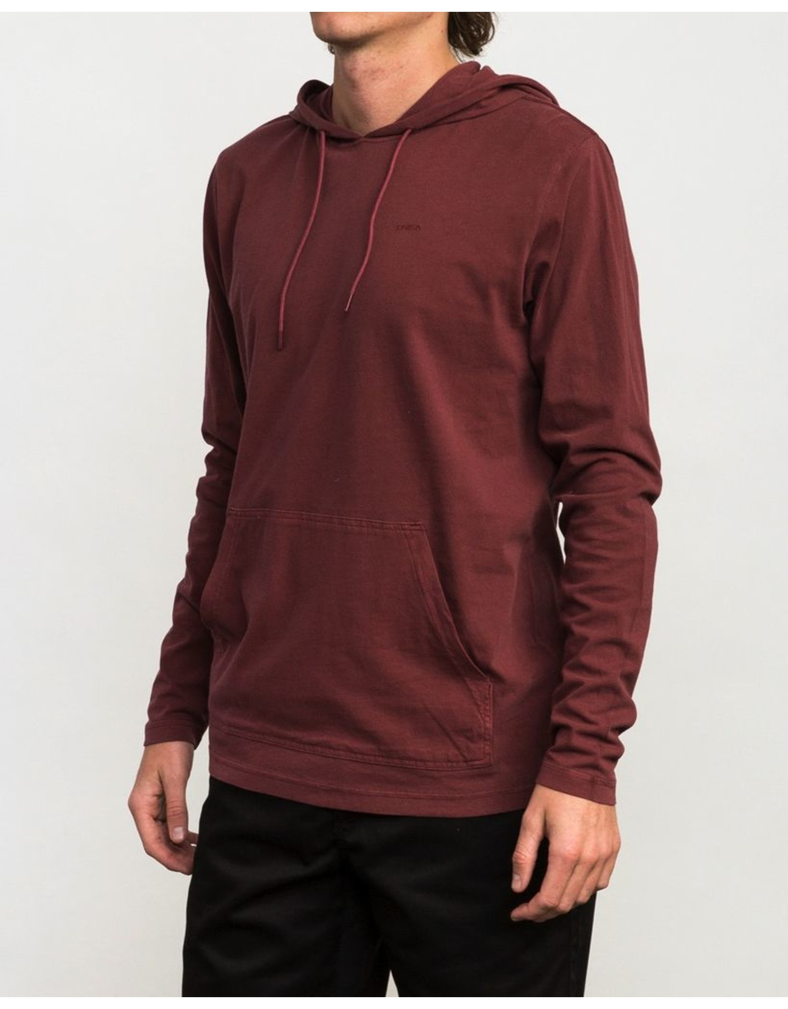 RVCA Mens PTC Pigment Hooded Shirt