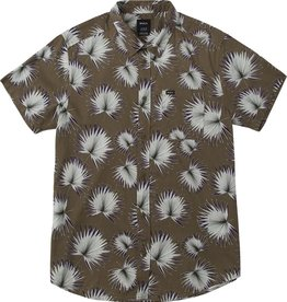 RVCA PALMS PRINTED BUTTON-UP SHIRT