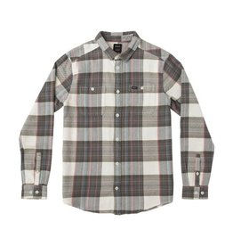 RVCA MEN'S LUDLOW PLAID FLANNEL