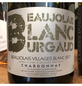 2017 Burgaud Beaujolais Blanc