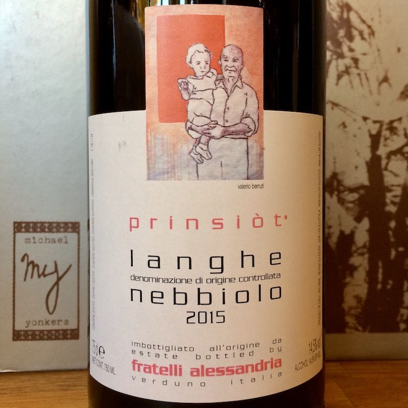 2015 Fratelli Alessandria Langhe Nebbiolo