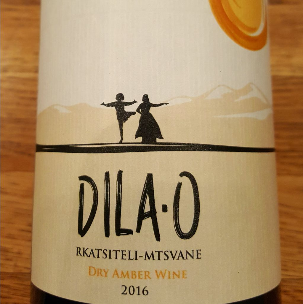 "2016 Teleda ""Dila-O""<br />  Rkatsiteli/Mtswane Dry Amber Wine"