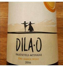 "Georgia 2016 Teleda ""Dila-O""<br />  Rkatsiteli/Mtswane Dry Amber Wine"