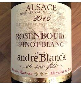 2016 Andre Blanck Pinot Blanc Rosenbourg