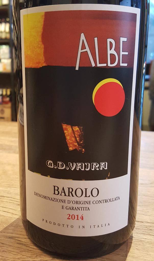 """2014 G.D. Vajra Barolo """"Albe"""" 1.5L"""