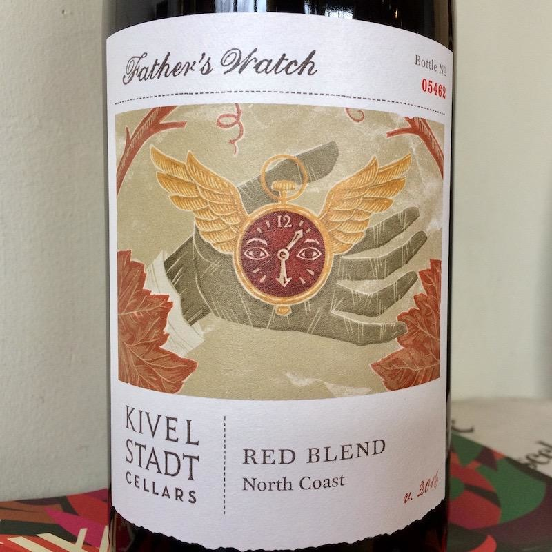 "2016 Kivelstadt ""Father's Watch"" North Coast Red Blend"