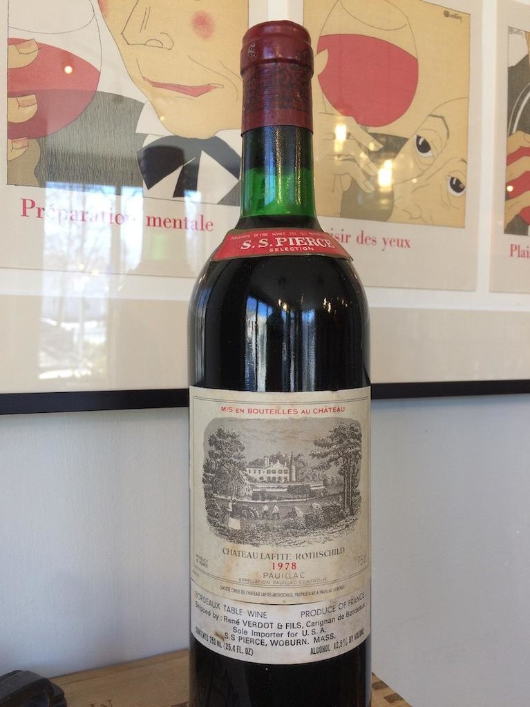 1978 Lafite Rothschild Pauillac