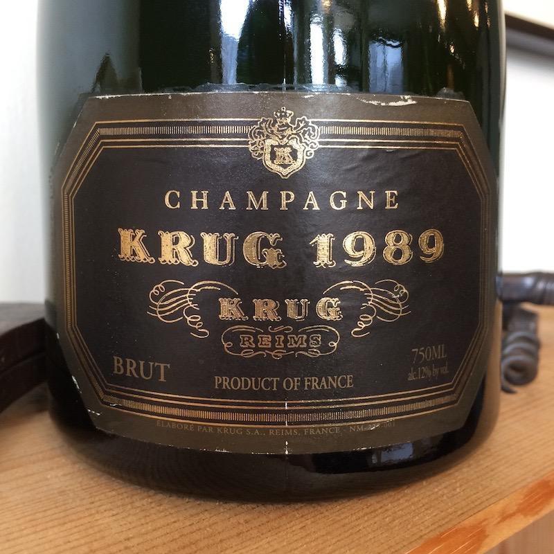 1989 Krug Champagne