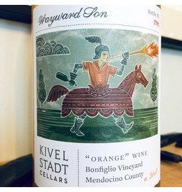 "2018 Kivelstadt Cellars ""Wayward Son"" Orange Wine Bonfiglio Vineyard Mendocino"