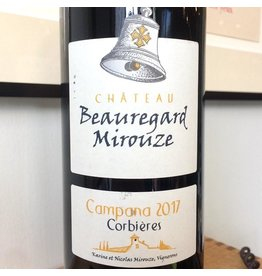 "2017 Chateau Beauregard Mirouze Corbieres ""Campana"""