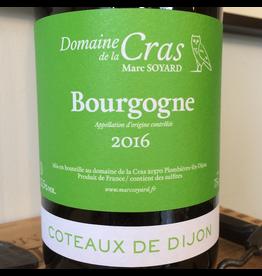 2016 Domaine de la Cras Bourgogne Blanc