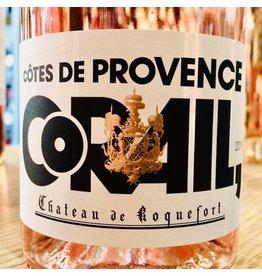 2018 Chateau de Roquefort Cotes de Provence Corail