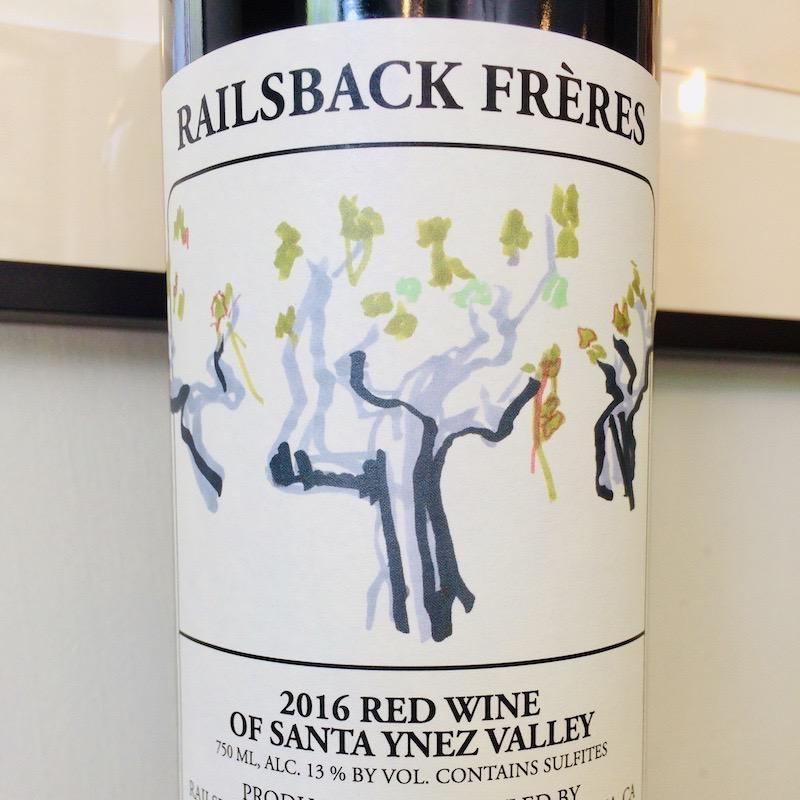 2016 Railsback Santa Ynez Valley Red