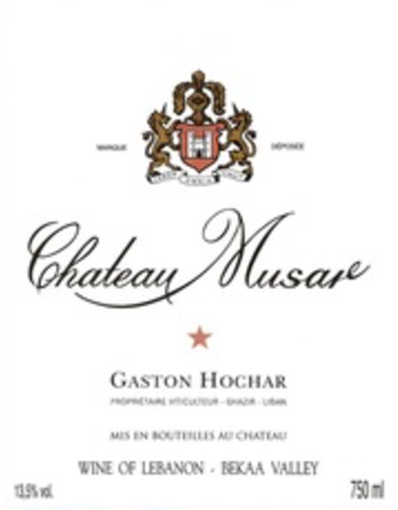 2000 Chateau Musar Bekaa Valley