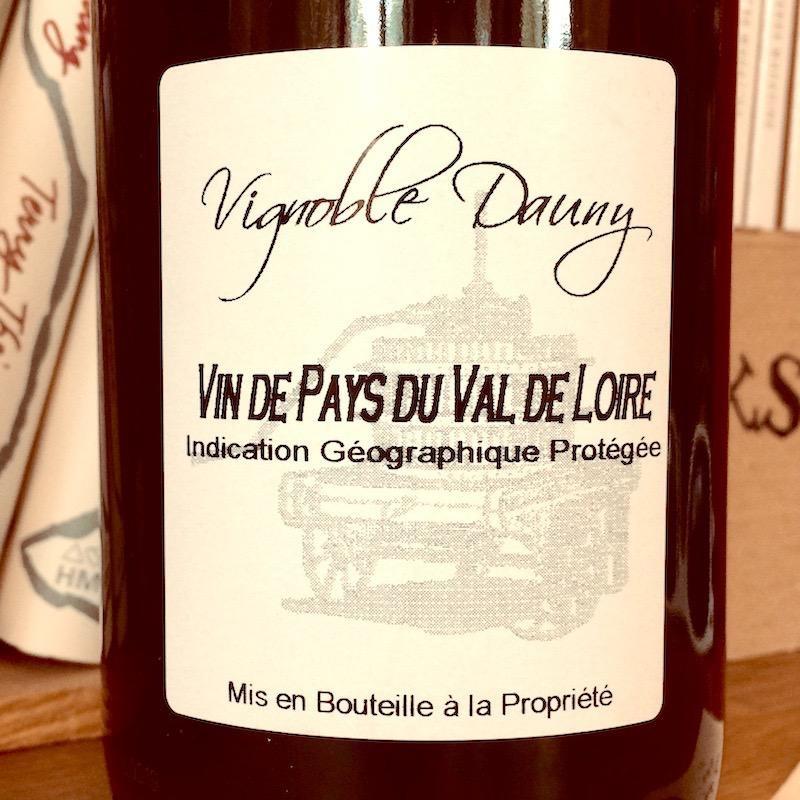 2018 Vignoble Dauny Vin de Pays du Val de Loire Rouge