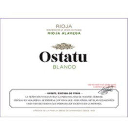 2017 Ostatu Rioja Blanco