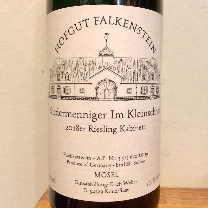 2018 Hofgut Falkenstein Niedermenniger im Kleinschock Riesling Kabinett AP20