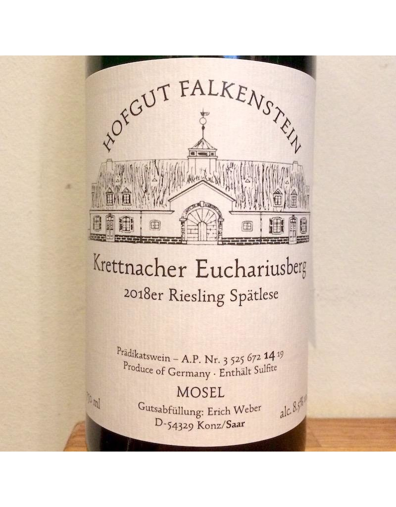 Germany 2018 Hofgut Falkenstein Krettnacher Euchariusberg Riesling Spatlese AP14