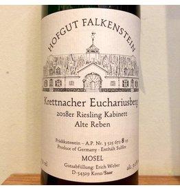2018 Hofgut Falkenstein Krettnacher Euchariusberg Riesling Kabinett Alte Reben AP8