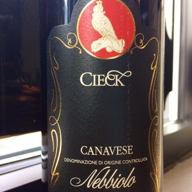 2014 Cieck Canavese Nebbiolo