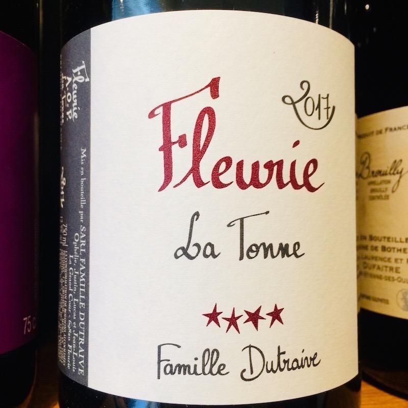 """2017 Domaine Jean Louis Dutraive Fleurie """"La Tonne"""""""