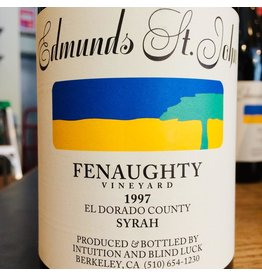 1997 Edmunds St John Fenaughty Vineyard Syrah