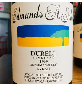 1999 Edmunds St John Durrell Vineyard Syrah