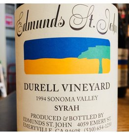 1994 Edmunds St John Durrell Vineyard Syrah