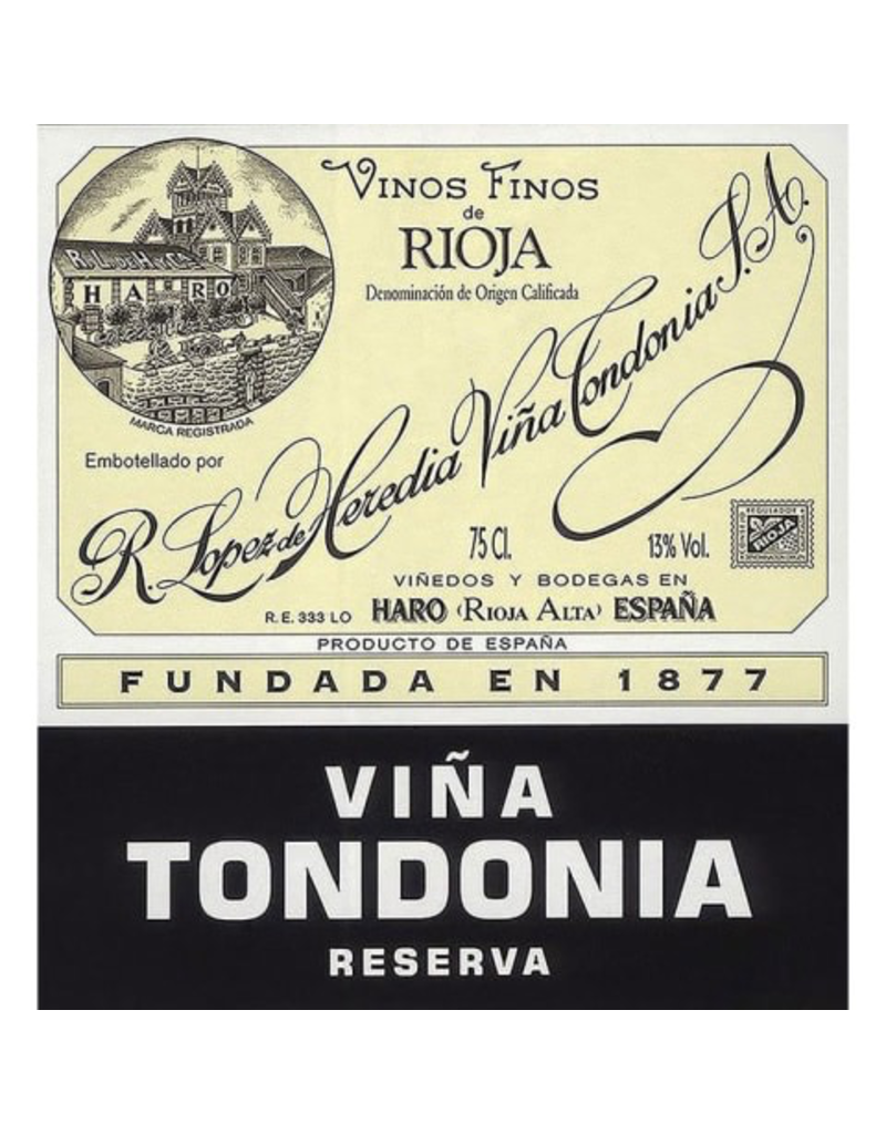 Spain 2007 Lopez de Heredia Tondonia Reserva