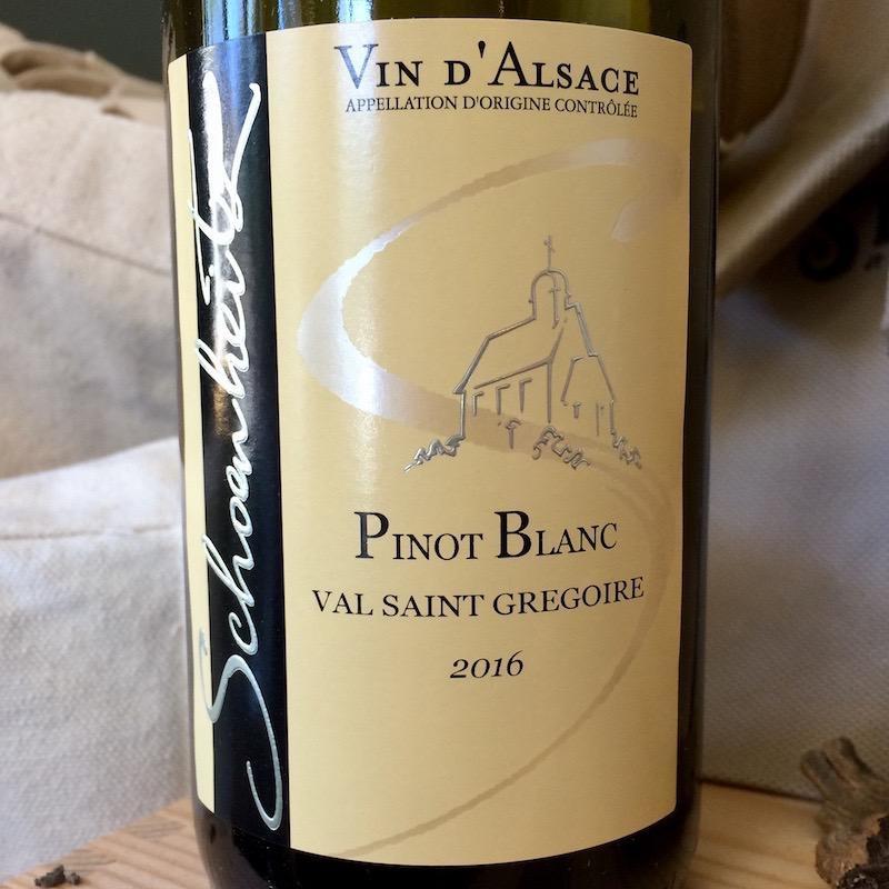 2016 Schoenheitz Pinot Blanc Val Saint Gregoire