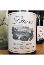"2016 Littorai Wendling Vineyard ""Block E"" Anderson Valley Pinot Noir"