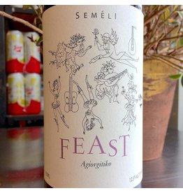 """2017 Semeli """"Feast"""" Peloponnese Agiorgitiko"""