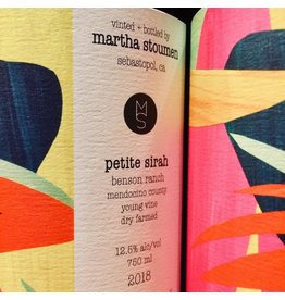 2018 Martha Stoumen Benson Ranch Petite Sirah