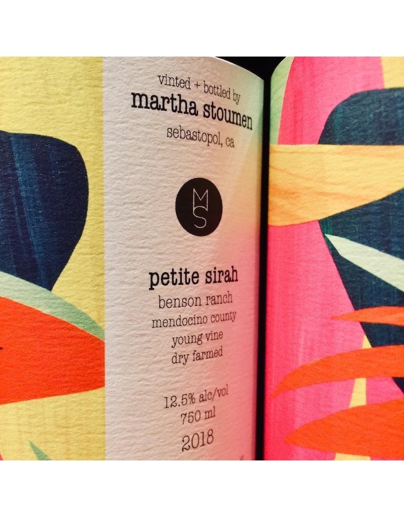 2018 Martha Stoumen Benson Ranch Petite Sirah