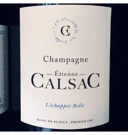 """Etienne Calsac Champagne """"L'échappée Belle"""" Blanc de Blancs 1er Cru"""