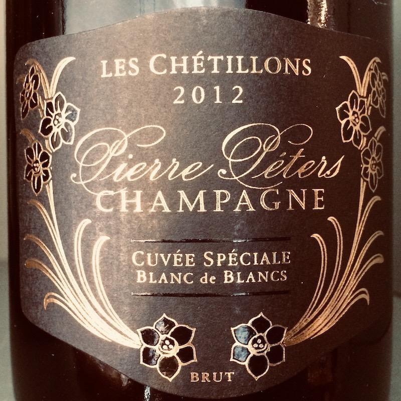 "2012 Pierre Peters Champagne ""Les Chetillons"""