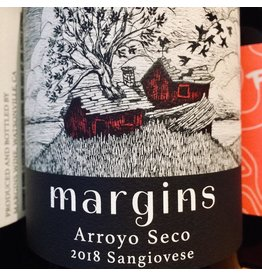2018 Margins Arroyo Seco Sangiovese
