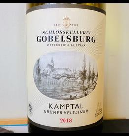 """2018 Schloss Gobelsburg Gruner Veltliner """"Gobelsburger """" Kamptal"""