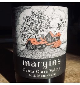 USA 2018 Margins Santa Clara Valley Mourvedre