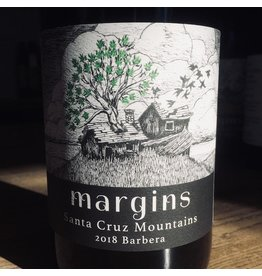 2018 Margins Santa Cruz Mountains Barbera
