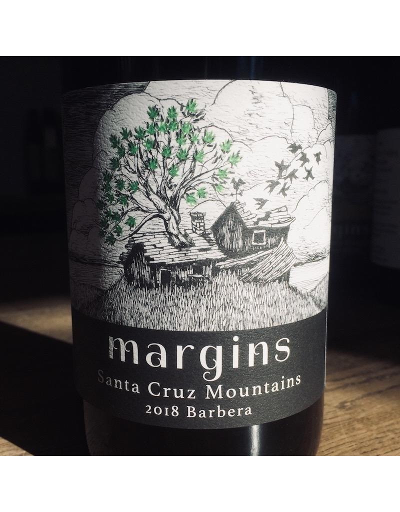 2018 Margins Santa Cruz Mountains Barbera