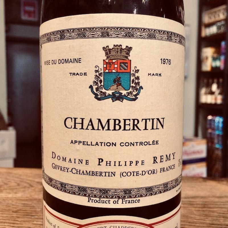 1976 Philippe Remy Chambertin