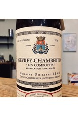 """1976 Philippe Remy Gevrey-Chambertin """"Les Combottes"""""""