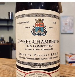 "1976 Philippe Remy Gevrey-Chambertin ""Les Combottes"""