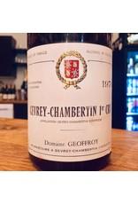 1976 Domaine Geoffroy Gevrey-Chambertin 1er Cru