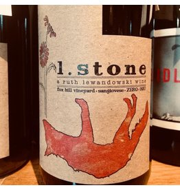 2017 Ruth Lewandowski L. Stone Fox Hill Vineyard Sangiovese
